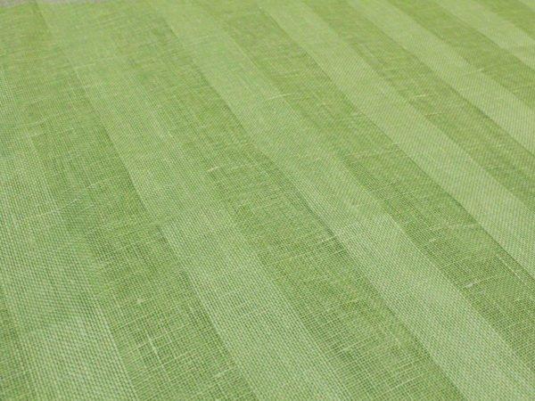 Фото 8 - Вуаль светло-зеленая, ширина 2.6м  лен 100%.