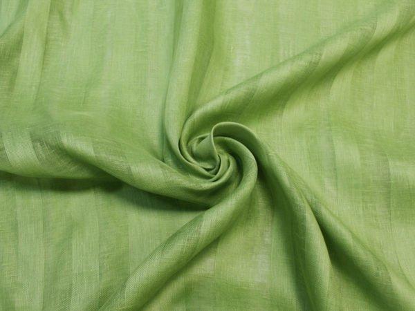 Фото 6 - Вуаль светло-зеленая, ширина 2.6м  лен 100%.