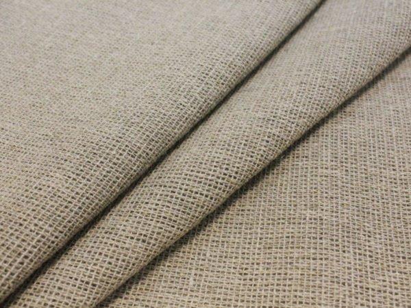 Фото 3 - Ткань льняная  декоративная,  сетка  суровая.