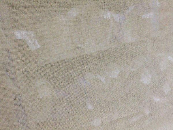 Фото 9 - Ткань льняная  декоративная,  сетка  суровая.