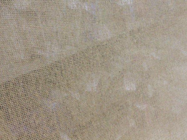 Фото 8 - Ткань льняная  декоративная,  сетка  суровая.