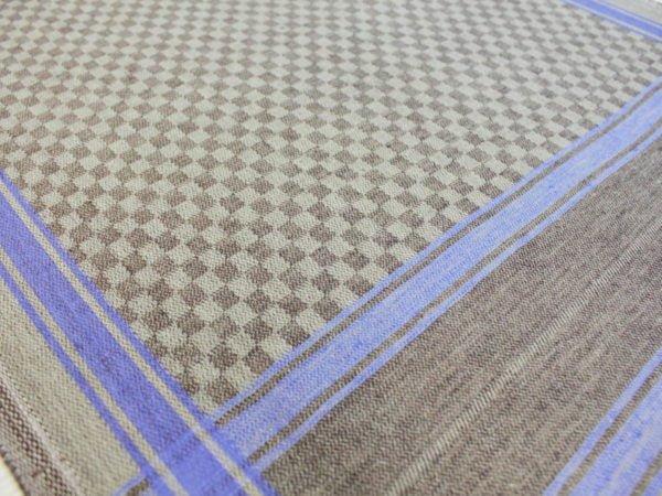 """Ткань жаккард полотенечный 50 см """"Скандинавия"""" синий"""
