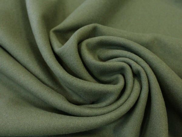 Фото 3 - Сукно, цвет олива (лоскут 1,5).