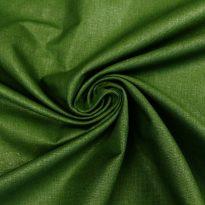 Фото 6 - Ткань льняная зеленая.