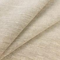 Фото 26 - Ткань льняная костюмная цвета небеленого льна плотная.
