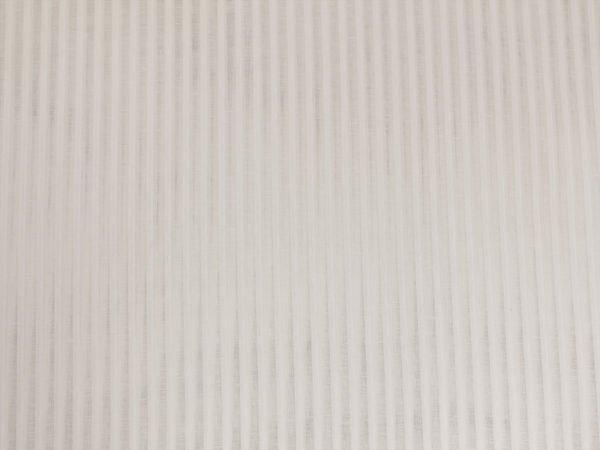 Фото 7 - Ткань декоративная, белая, 260см узкая полоска.