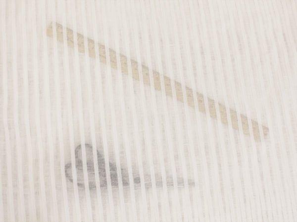 Фото 8 - Ткань декоративная, белая, 260см узкая полоска.