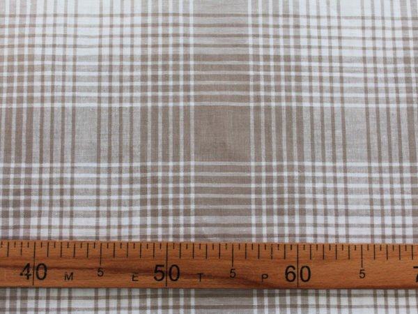 Фото 6 - Ткань льняная в  клетку, ширина 2.2м.