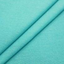 Фото 15 - Ткань льняная, ширина 2.6 м, лен-100% бирюзовая.