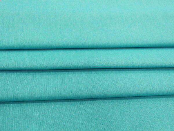 Ткань сорочечная бирюзовая