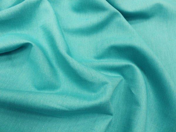 Фото 7 - Ткань льняная, ширина 2.6 м, лен-100% бирюзовая.