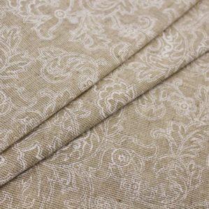 Жаккардовые льняные ткани