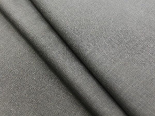 Фото 3 - Ткань лен 100% темно-серый.