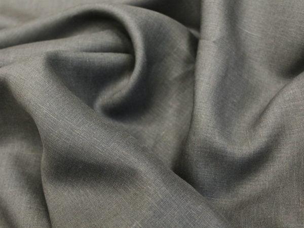 Фото 5 - Ткань лен 100% темно-серый.
