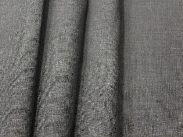 Фото 6 - Ткань лен 100% темно-серый.