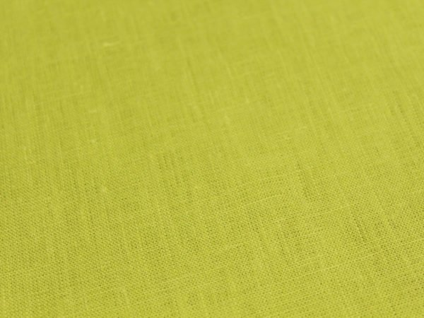 Ткань лен 100% цвет салатный