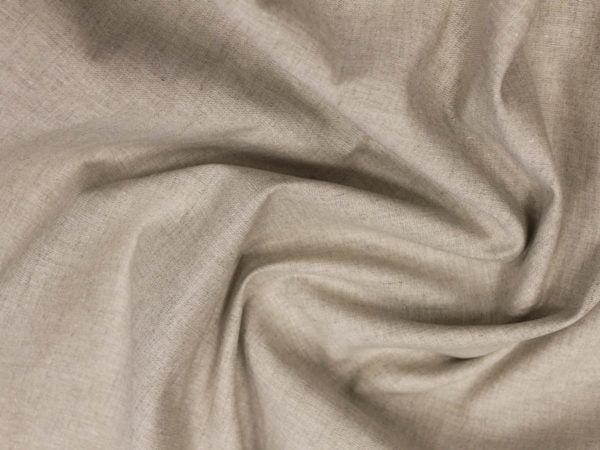 Фото 8 - Льняная ткань суровая, полулен.