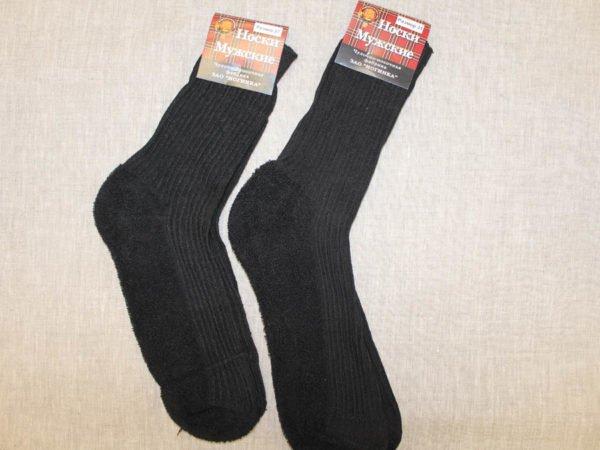 Фото 7 - Шерстяные носки мужские махровый след.
