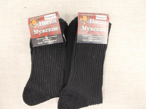 Фото 5 - Шерстяные носки мужские махровый след.