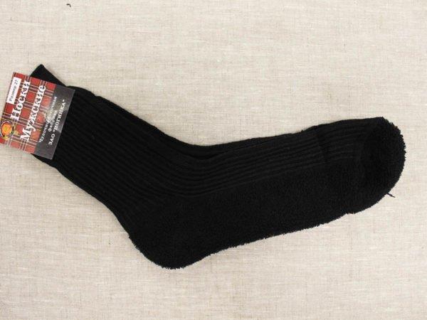 Фото 6 - Шерстяные носки мужские махровый след.