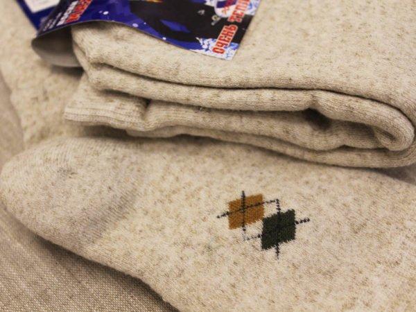 Фото 6 - Ростекс носки мужские Л-21-1-М лён внутри махра.