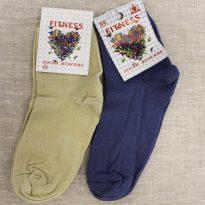 Фото 20 - Фитнес носки женские тонкая шерсть.