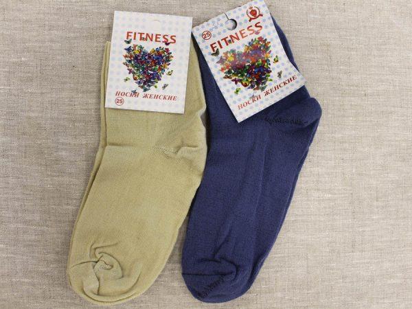 Фото 3 - Фитнес носки женские тонкая шерсть.