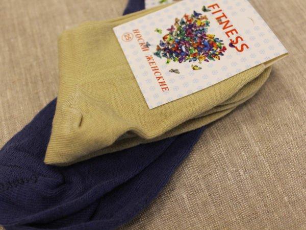 Фото 6 - Фитнес носки женские тонкая шерсть.