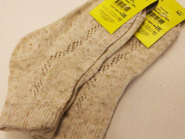 Носки детские льняные