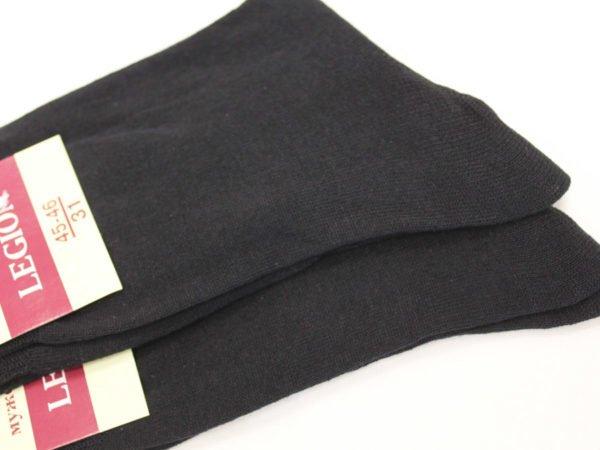 Фото 5 - Легион носки мужские черные.