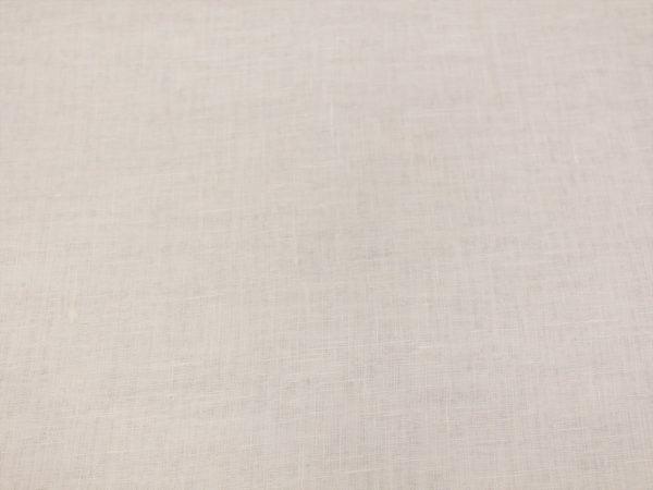 Вуаль льняная белая (полулён)