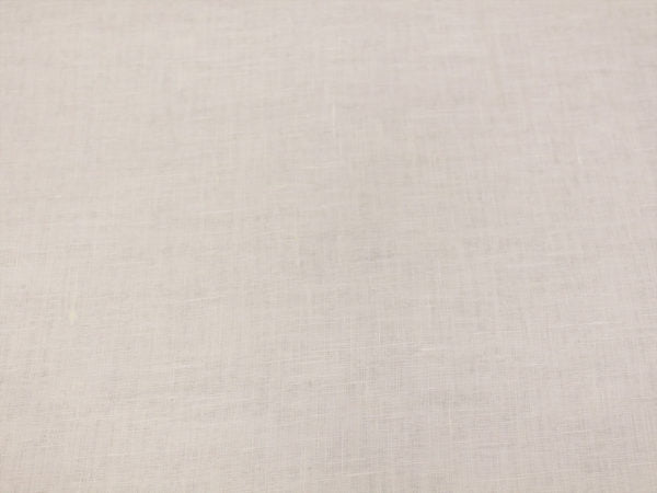 Фото 6 - Вуаль льняная белая (полулён)  лоскут.