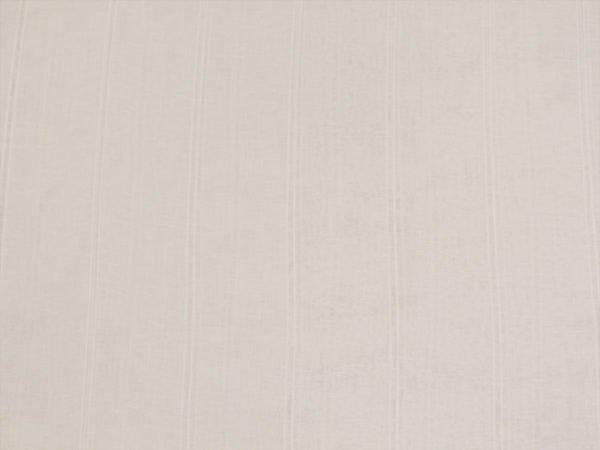Фото 4 - Вуаль  льняная белая, 260 см, лен 100%.