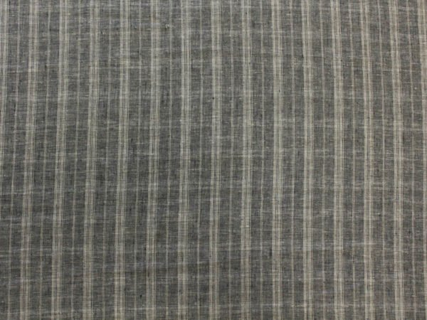 Фото 6 - Ткань льняная умягченная в  тонкую полоску, лен 100%.