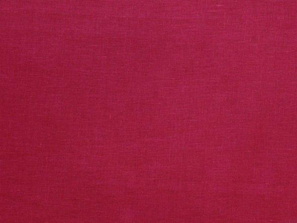 Фото 6 - Ткань лен 100% цвет  спелая  вишня.