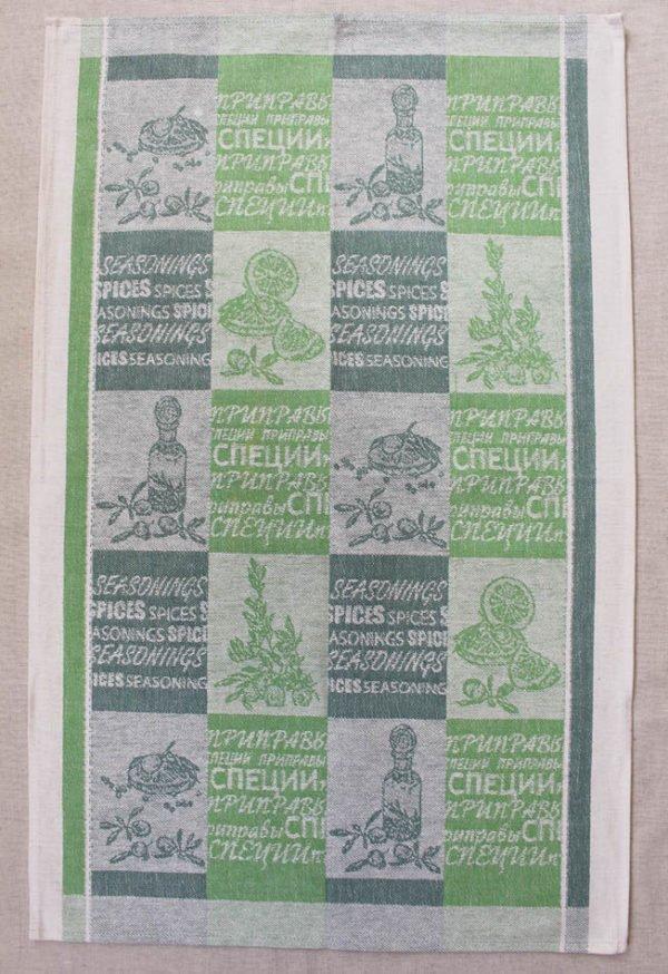 """Фото 3 - Полотенце льняное """"Оливки-лимон""""."""