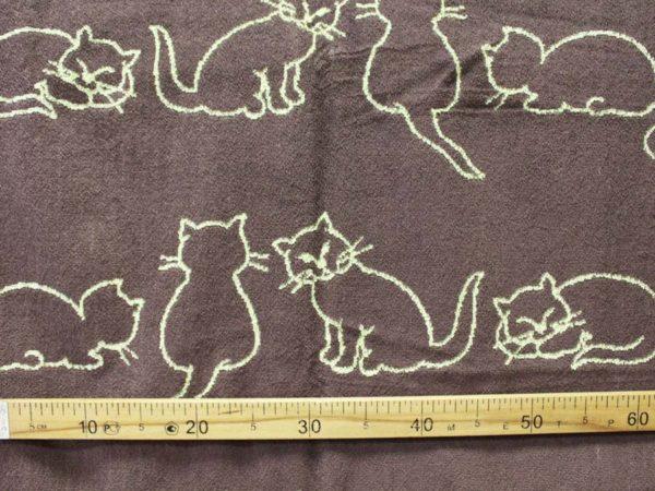 "Фото 5 - Полотенце  махровое  ""Кошки"" 70*140 см."