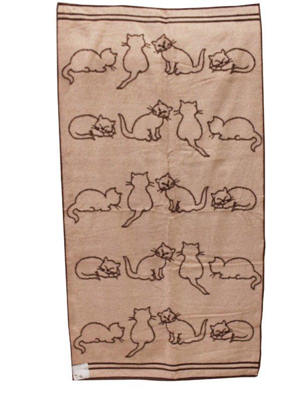 "Фото 5 - Полотенце  махровое  ""Кошки"" 50*90 см."