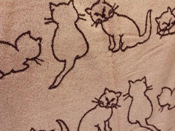 "Фото 6 - Полотенце  махровое  ""Кошки"" 70*140 см."