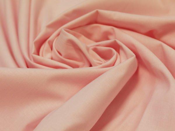 Фото 3 - Поплин ширина 220 см нежно-розовый.