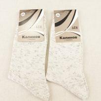 Фото 20 - Носки мужские меланжевые лен 100% (Смоленск).