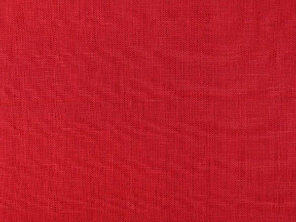 Фото 5 - Ткань льняная плотная,  лен 100%, красная.
