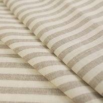 Фото 26 - Льняная ткань в полоску лен 100% ширина 260 см.