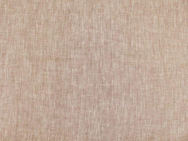 Фото 7 - Льняная ткань  светло-коричневая, меланж , ширина 2.6м лен 100%.