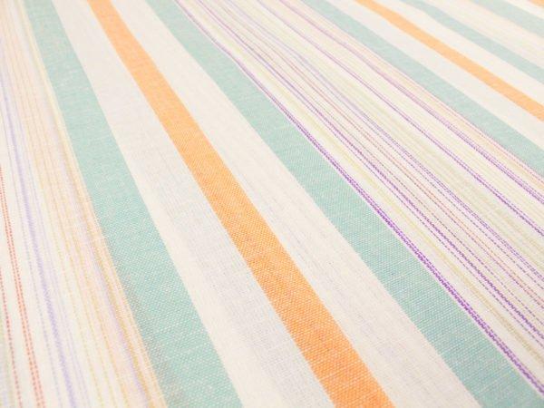 Фото 10 - Льняная ткань для постельного белья шир 1.8м в полоску.
