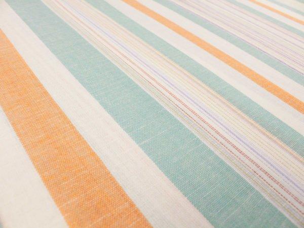 Фото 7 - Льняная ткань для постельного белья шир 1.8м в полоску.