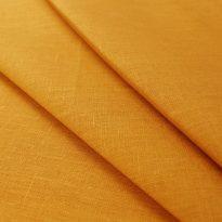 Фото 11 - Ткань для постельного белья, ширина 2.6 м, лен-100% цвет карри.