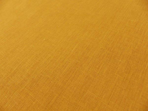 Фото 7 - Ткань для постельного белья, ширина 2.6 м, лен-100% цвет карри.