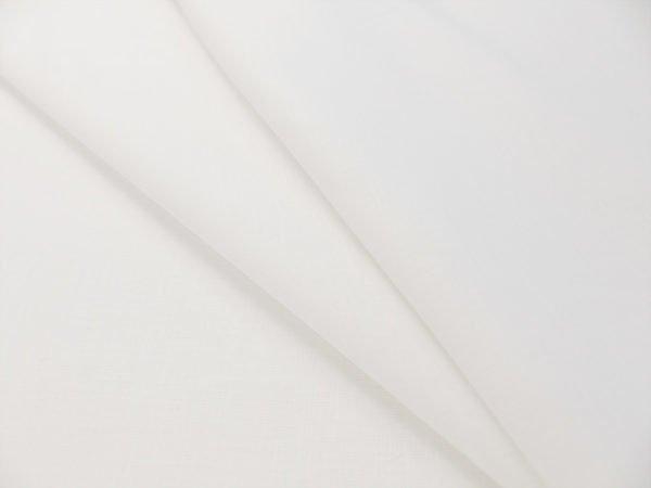 Фото 3 - Ткань  льняная сорочечная белая.