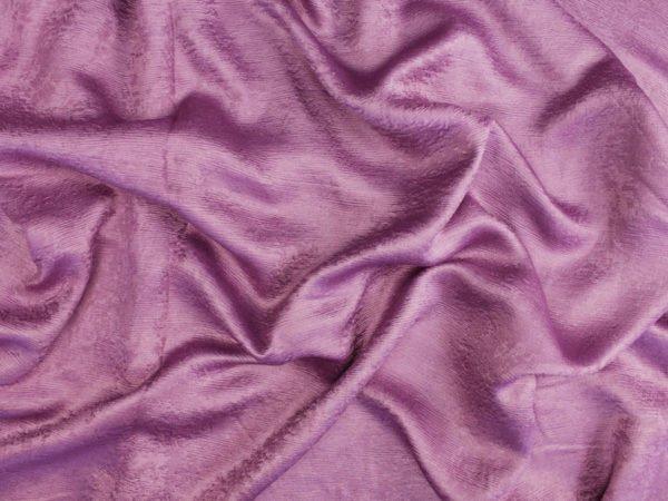Фото 4 - Ткань портьерная блэкаут сиреневая (имитация дерева).